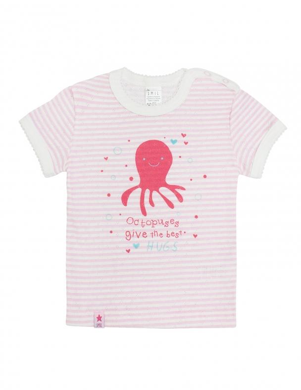Футболка SMIL 103387 Розовая полоска