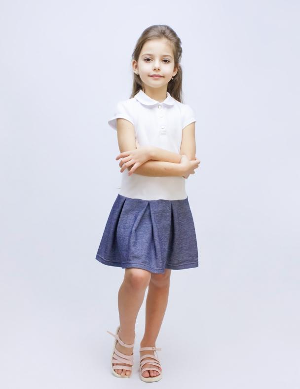 Плаття, Сукня SMIL 120205 Білий
