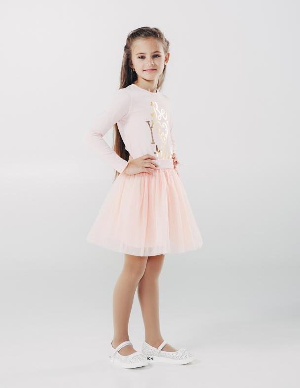 Спідниця SMIL 120175 Рожевий персик