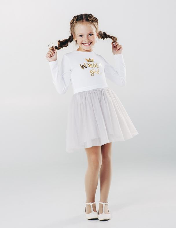 Плаття, Сукня SMIL 120161 Білий