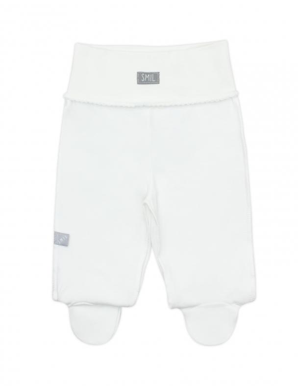 Повзунки-штанці 107323 Білий