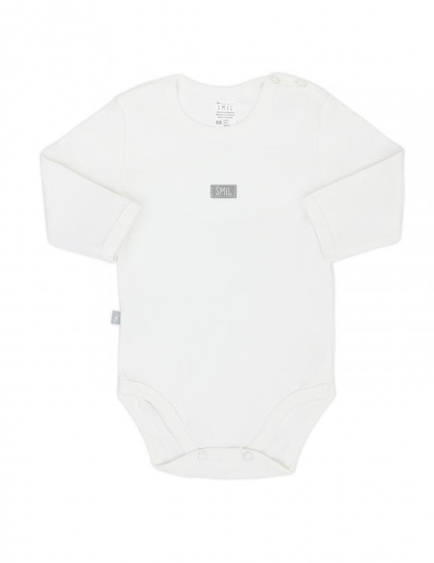 Боді-футболка д.р. SMIL 102451 Білий