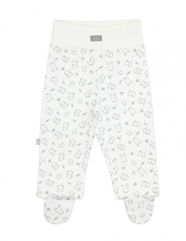 Ползунки-штанишки 107324 Рисунок на белом