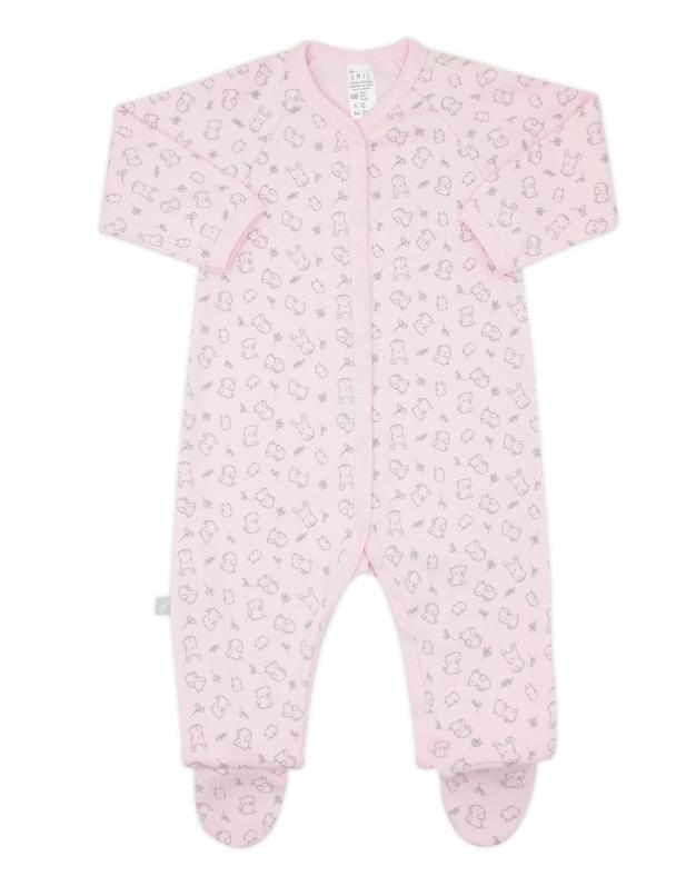 Комбінезон 108453 Малюнок на рожевому