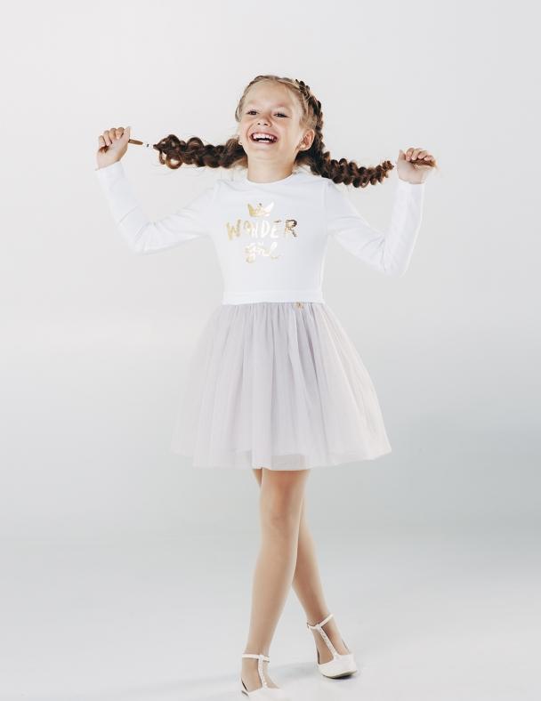 Платье SMIL 120162 Белый