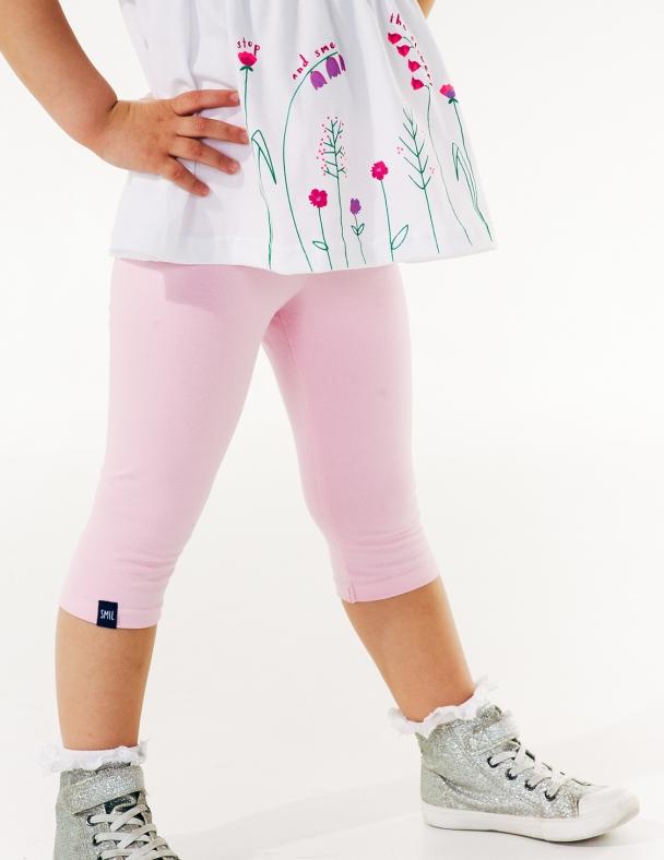 Лосины 3/4 SMIL 115360 Холодный розовый