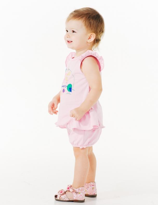 Туніка SMIL 110537 Холодний рожевий