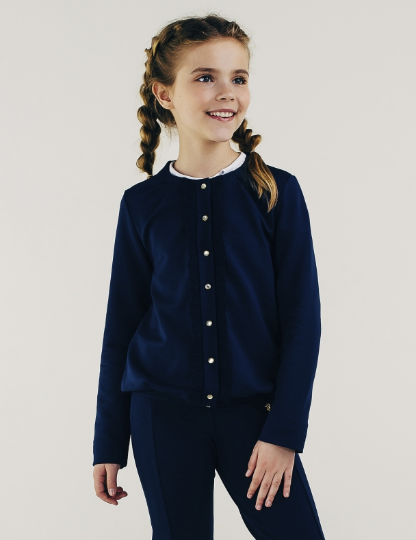 Жакет SMIL 116411 Темно-синий