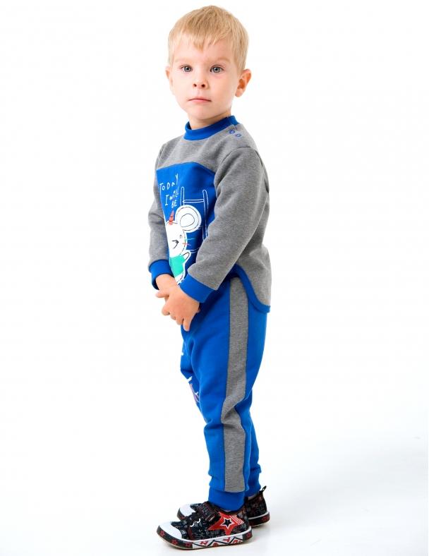 Костюм для хлопчика SMIL 117199 Синій