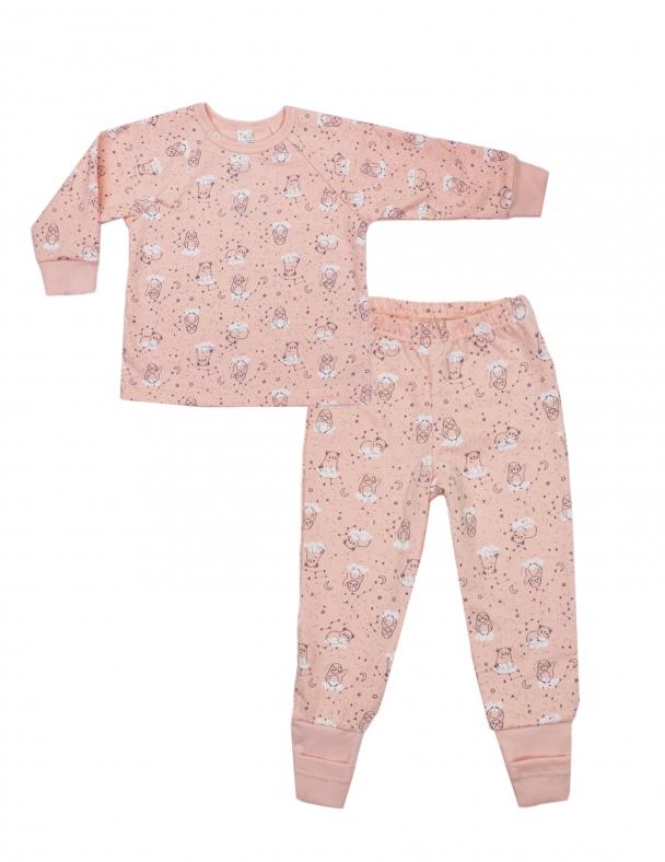 Пижама SMIL 104311 Рисунок на розовом