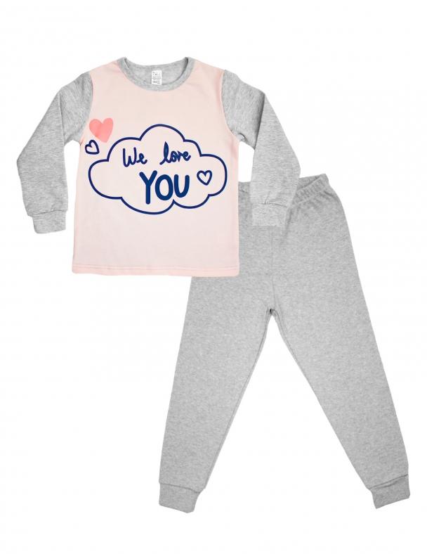 Пижама 104314 Розовый персик