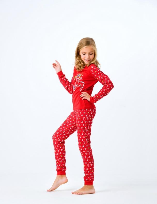 Пижама в коробке 104388 Красный
