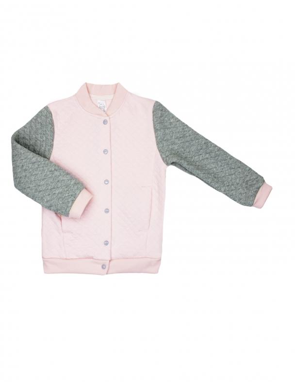 Бомбер 116477 Розовый персик
