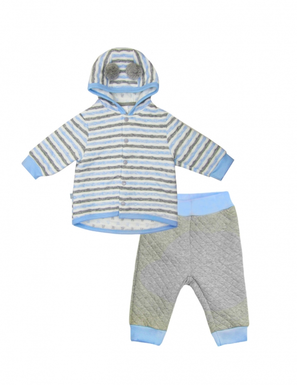 Костюм (кофта+брюки) SMIL 117213 Полоска мальчик