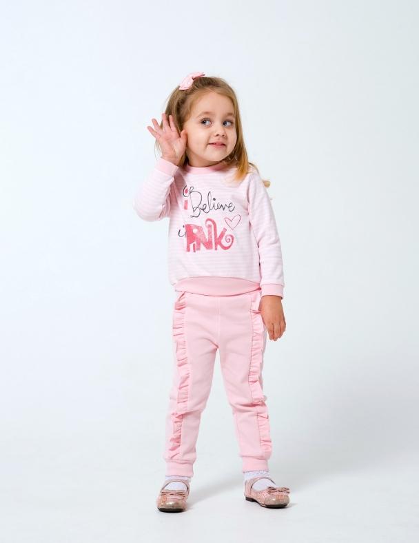 Свитшот SMIL 116431 Розовая полоска