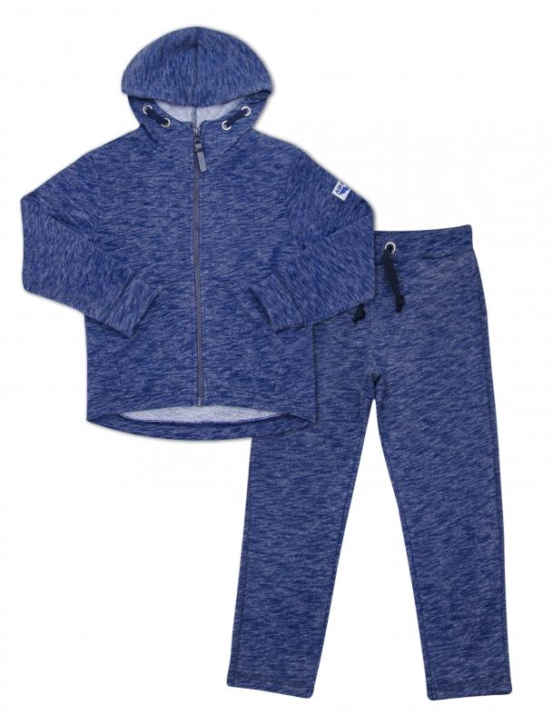Костюм (куртка + штани) SMIL 117182 Темно-синій меланж