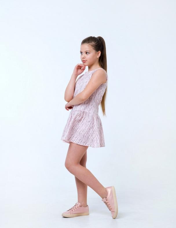 Сарафан SMIL 120258 Рожевий