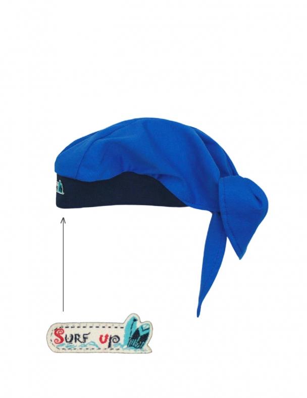 Бандана SMIL 118544 Яскраво-синій