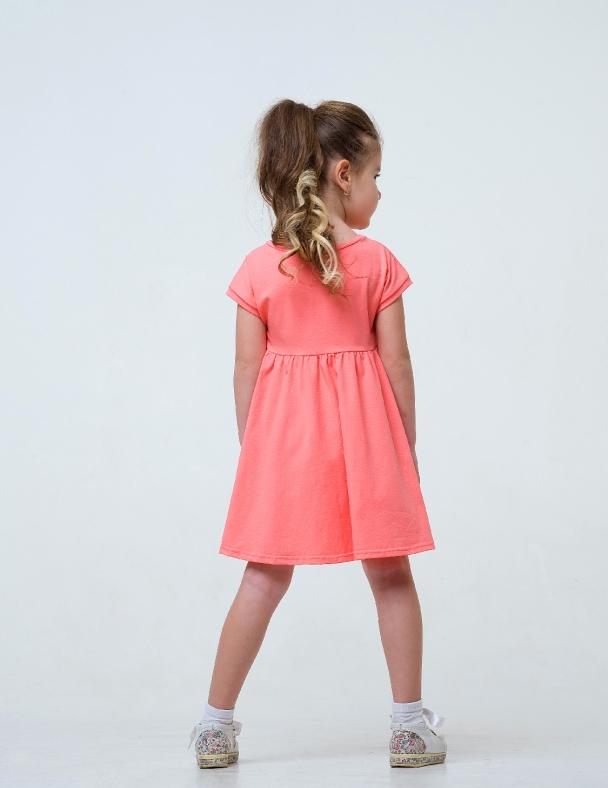 Платье SMIL 120249 Нежный коралл