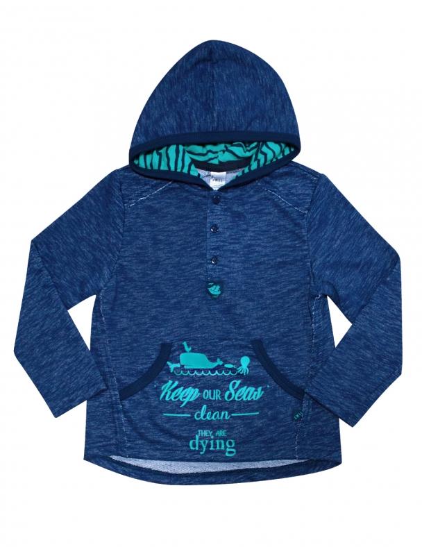 Пуловер SMIL 116316 Темно-синий меланж