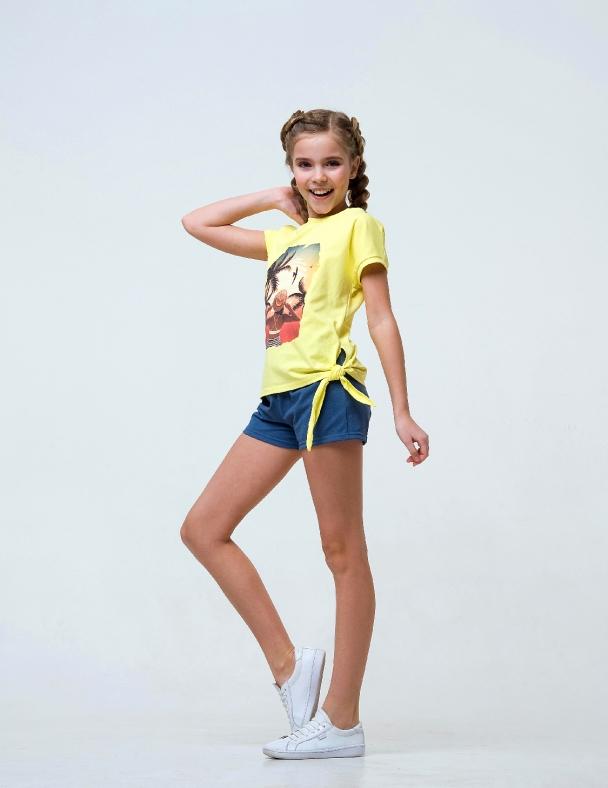 Комплект (футболка+шорты) SMIL 113263 Желтый