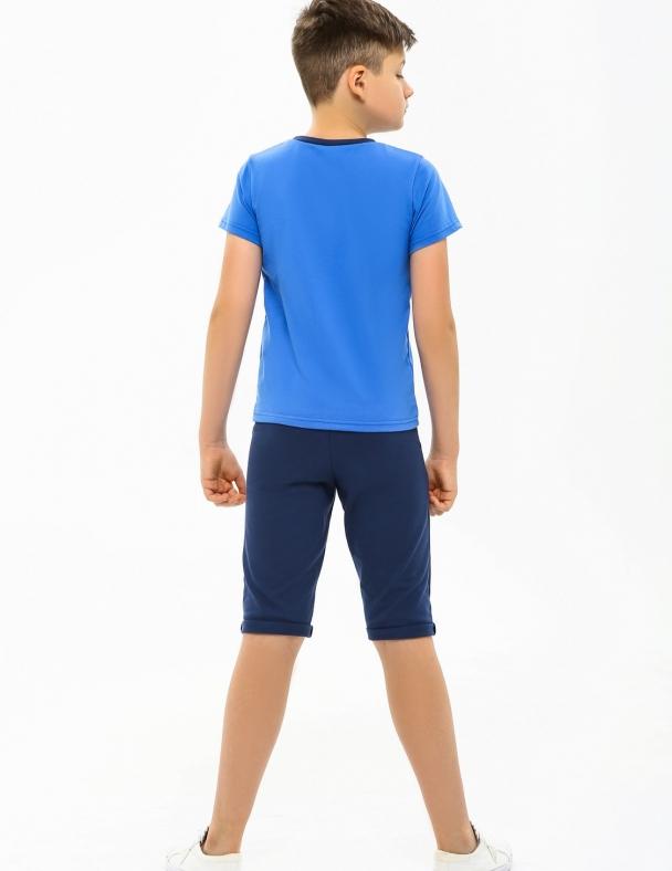 Комплект (футболка+бриджи) SMIL 113269 Ярко синий