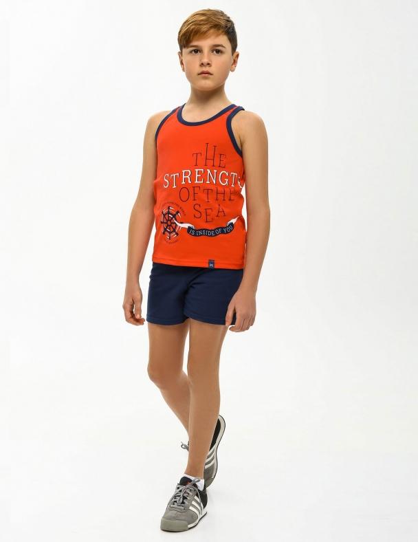 Комплект (майка+шорты) SMIL 113261 Красный