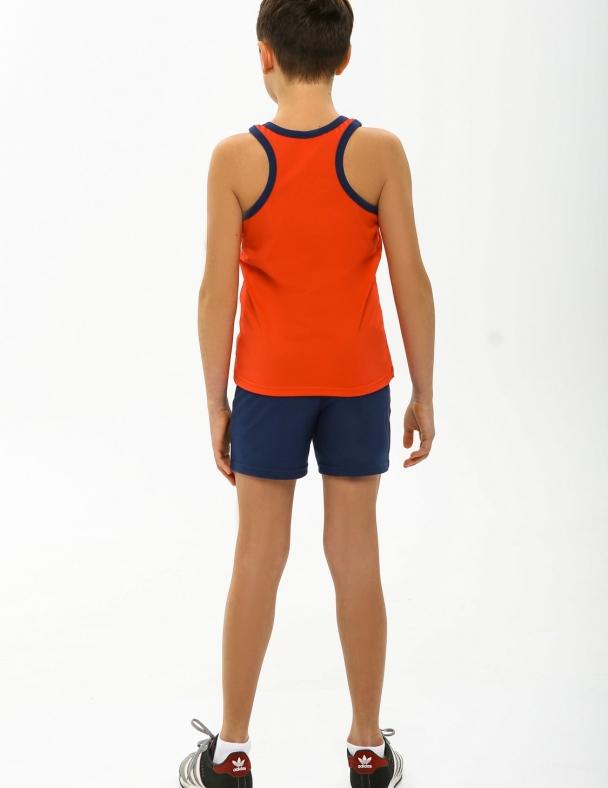 Комплект (майка+шорты) SMIL 113260 Красный - изображение 2