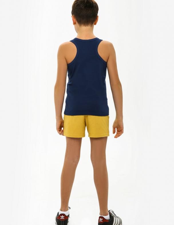 Комплект (майка + шорти) SMIL 113260 Сіро-синій - изображение 2