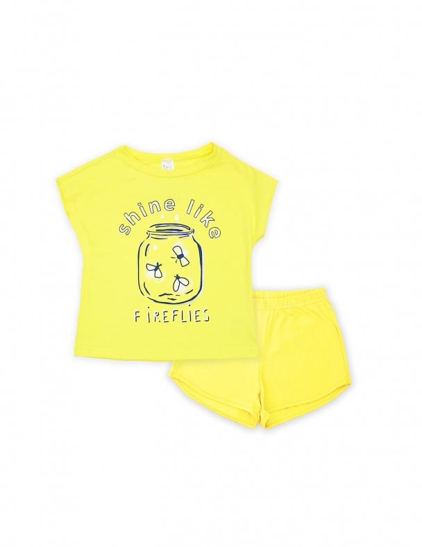 Пижама SMIL 104393 Желтый - изображение 1