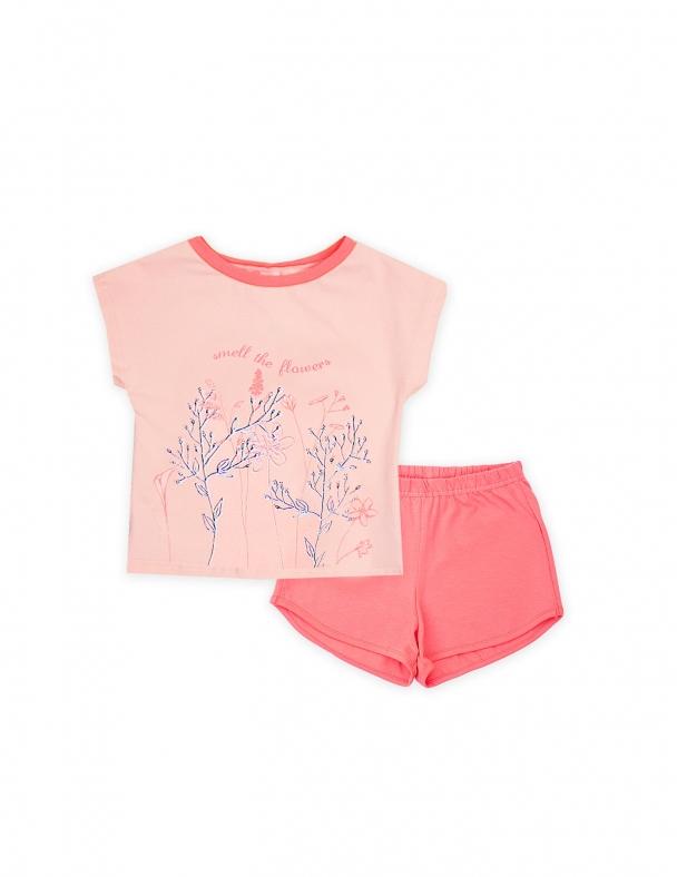 Пижама SMIL 104393 Розовый персик - изображение 1
