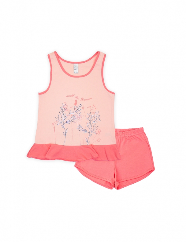 Піжама SMIL 104479 Рожевий персик - изображение 1