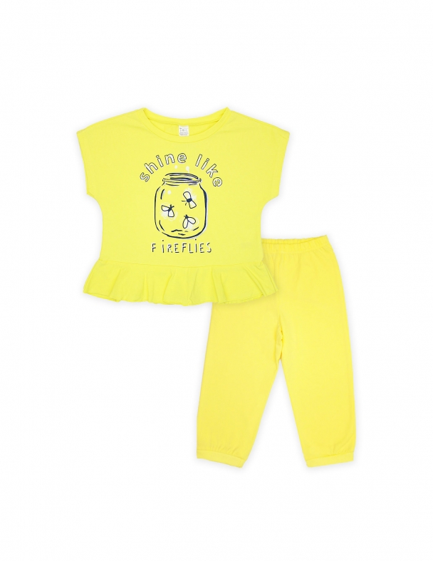 Піжама SMIL 104476 Жовтий - изображение 1