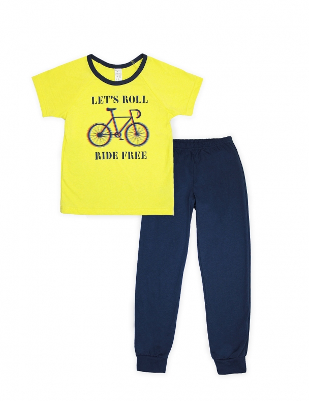 Пижама SMIL 104398 Желтый - изображение 1