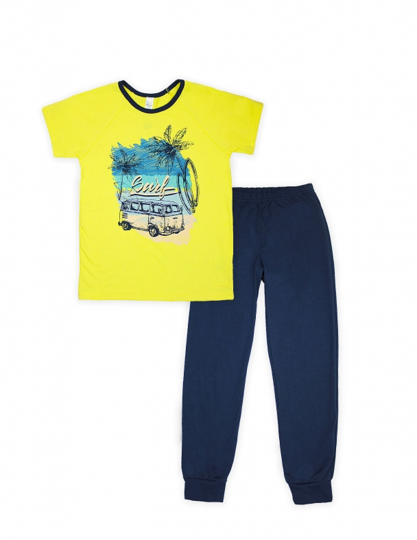 Пижама SMIL 104481 Желтый - изображение 1