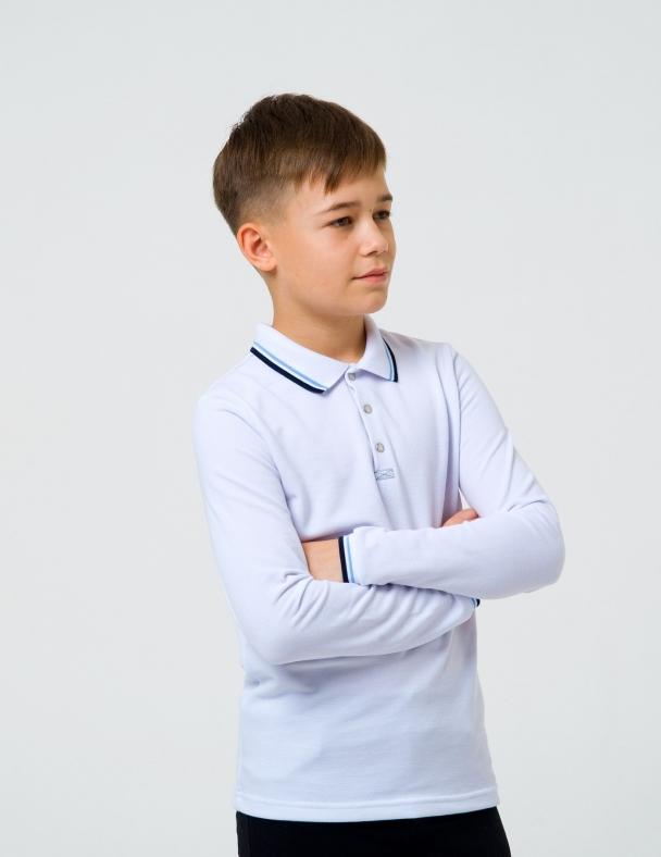 Футболка-поло д.р. SMIL 114739 Белый