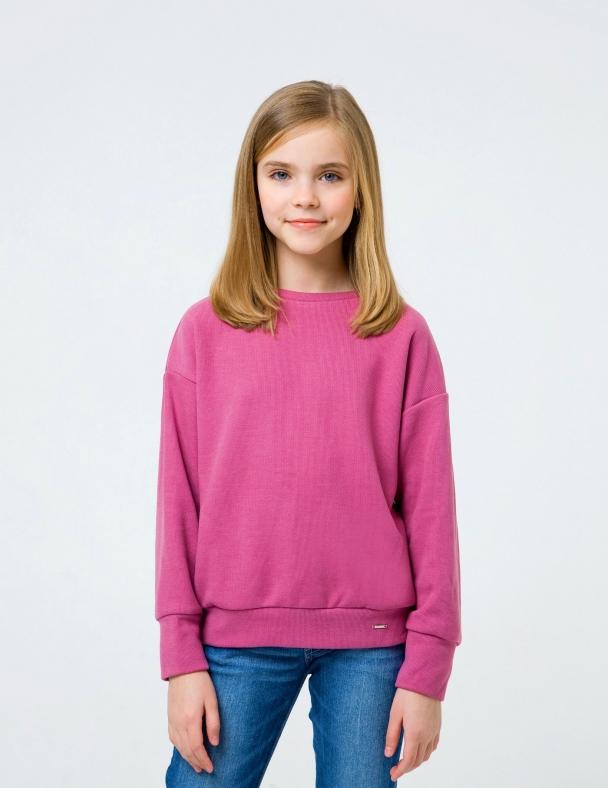 Свитшот SMIL 116500 Розовый меланж