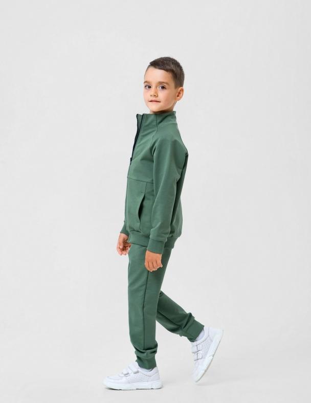 Костюм (куртка+ брюки) SMIL 117231 Хаки