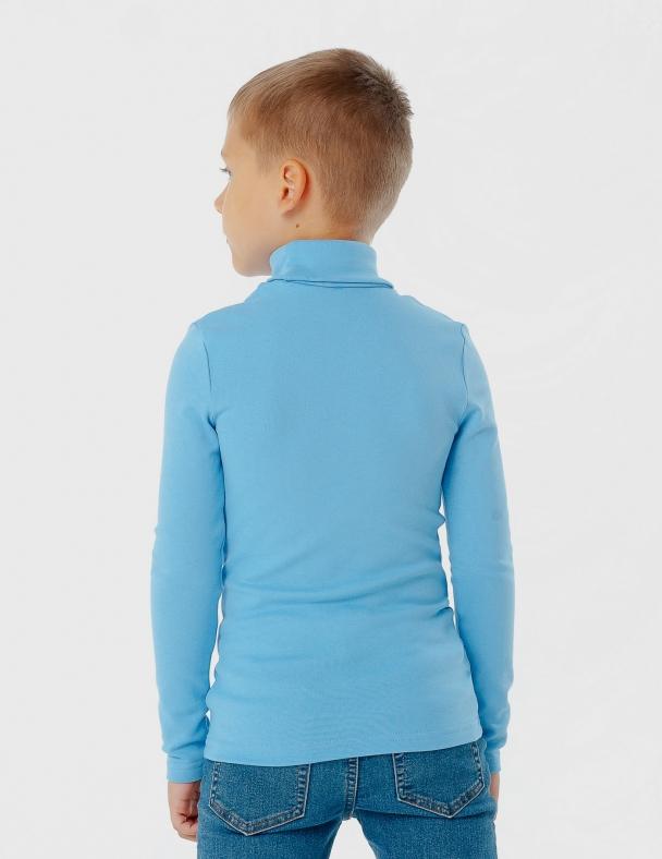 Гольф-стойка с отворотом SMIL 114722 Синий иней - изображение 3