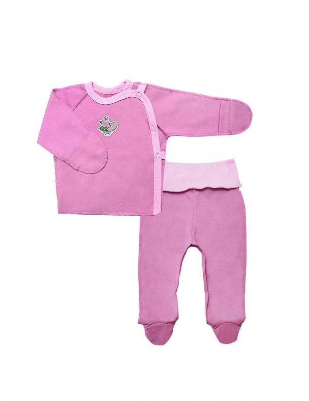 Комплект (распашонка+ползунки) SMIL 109994 Розовый
