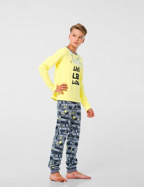 Пижама SMIL 104801 Желтый