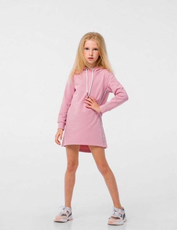 Платье-туника SMIL 120292 Пудра