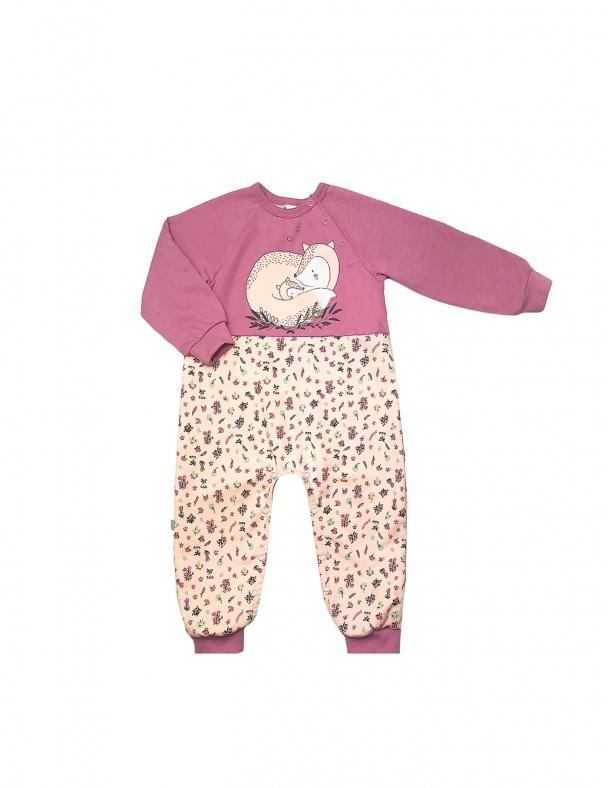 Комбинезон SMIL 108535 Темный розовый - изображение 1