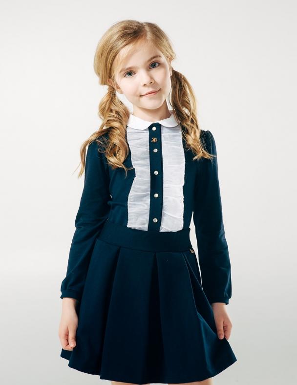 Блуза SMIL 114605 Темно синій