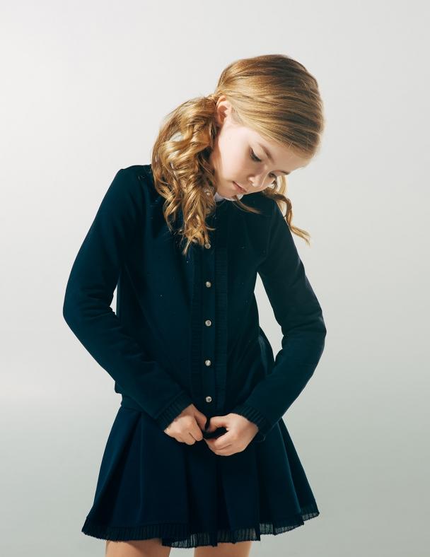 Жакет SMIL 116321 Темно-синий