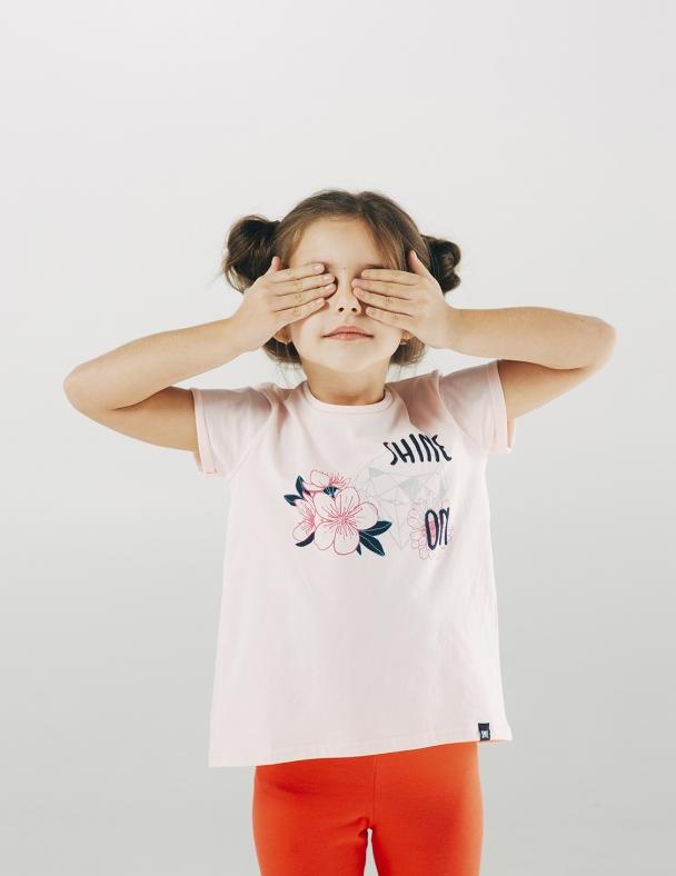 Футболка SMIL 110487 Розовый персик - изображение 2