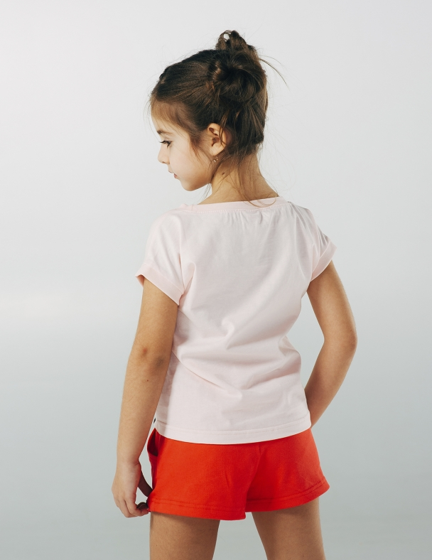 Футболка SMIL 110481 Рожевий персик - изображение 2