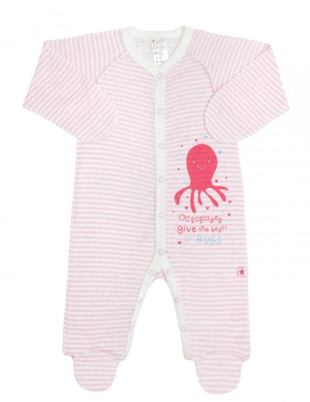 Комбинезон SMIL 108418 Розовая полоска - изображение 1