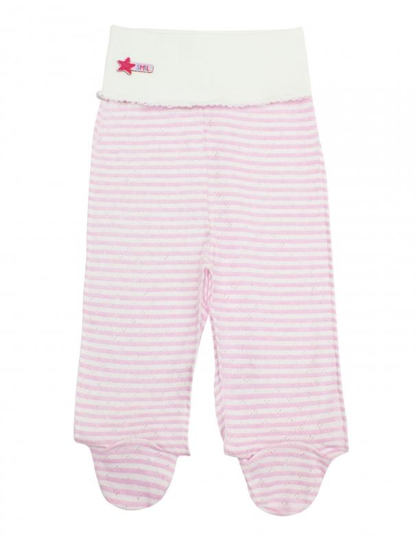 Повзунки-штанці SMIL 107299 Рожева смужка - изображение 1